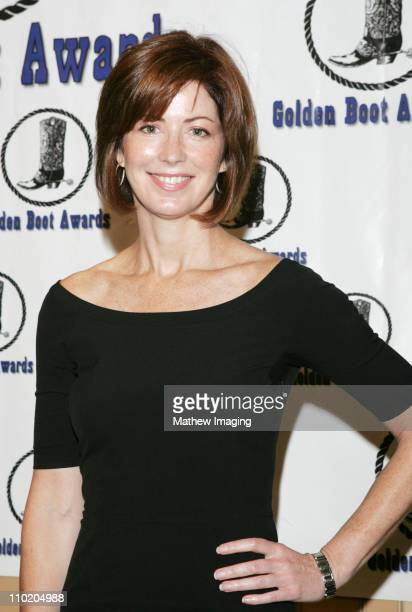 Dana Delany during 22nd Annual Golden Boot AwardsShow and Green Room at Sheraton Universal Hotel in Universal City California United States