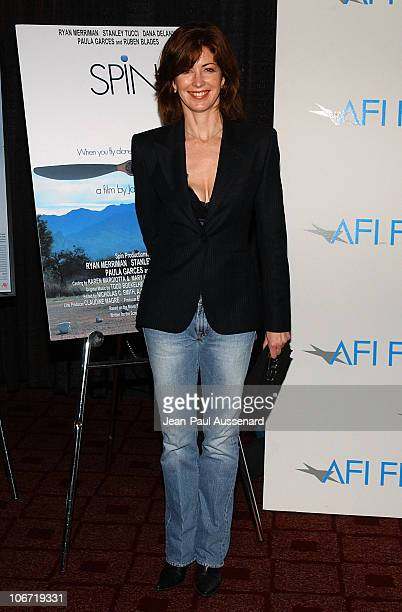 Dana Delany during AFI Film Festival Screening of James Redford's Directorial Debut 'SPIN' Arrivals at Arclight Cinemas in Hollywood California...