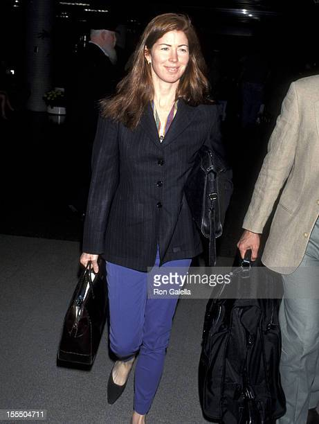 Dana Delany during Dana Delany File Photos at Los Angeles International Airport in Los Angeles California United States