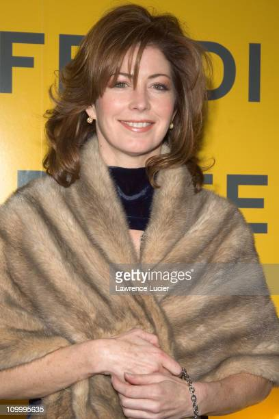 Dana Delany during Fendi Flagship Store Opening and Announcement of The Fendi Rome Prize Fellowship at The American Academy in Rome at Fendi Flagship...