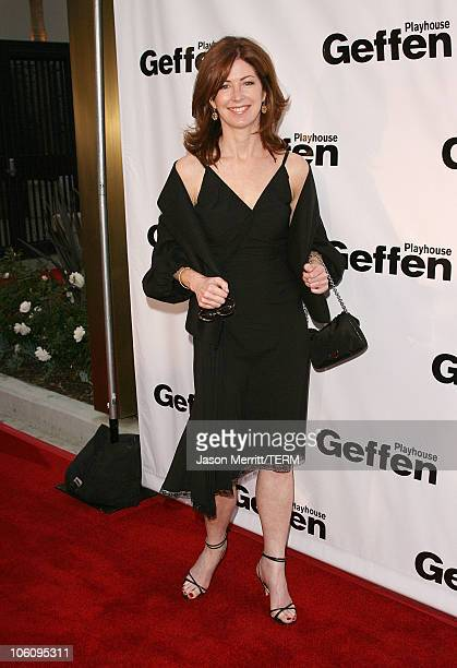 Dana Delany during Geffen Playhouse's 5th Annual 'Backstage at the Geffen' Gala Fundraiser at Geffen Playhouse in Westwood California United States
