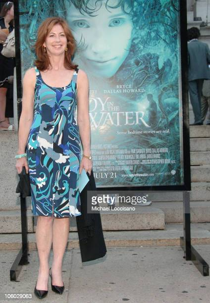 Dana Delany during Lady In The Water New York City Premiere at American Museum of Natural History in New York City New York United States