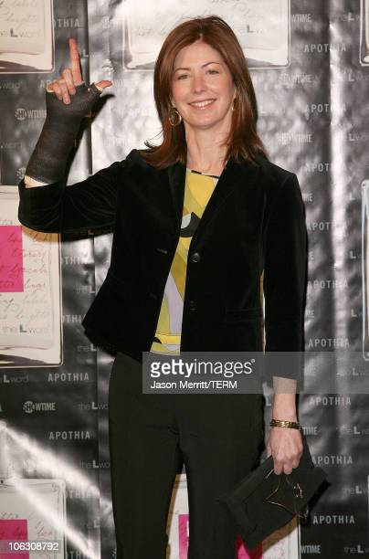 Dana Delany during Launch Of 'L eau de parfum' Inspired by the TV Show 'The L Word' Arrivals at Apothia at Fred Segal Melrose in West Hollywood...