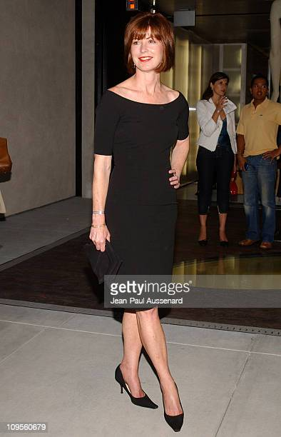 Dana Delany during Prada Opens Beverly Hills Epicenter Arrivals at Rodeo Drive in Beverly Hills California United States