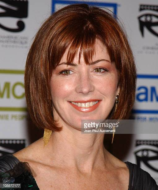 Dana Delany during The 19th Annual American Cinematheque Award Honoring Steve Martin Arrivals at Beverly Hilton Hotel in Beverly Hills California...