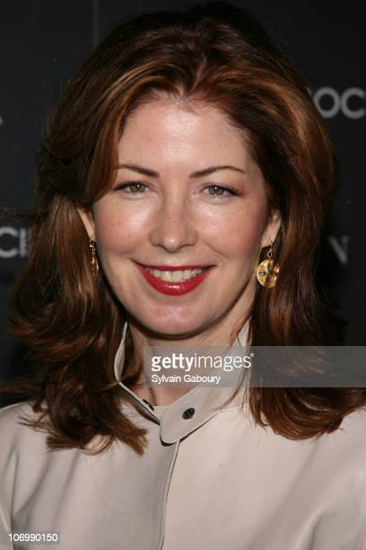 Dana Delany during The Cinema Society and Guerlain Presented a Screening of 'The Black Dahlia' Arrivals at Tribeca Grand Screening Room in New York...