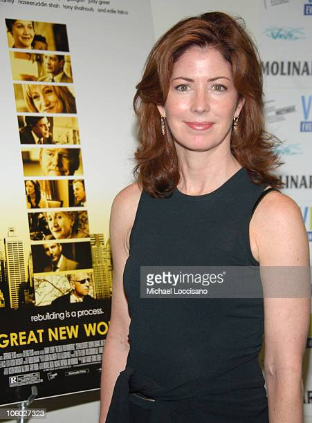 Dana Delany during 'The Great New Wonderful' Red Carpet Premiere at Angelika Theatre in New York City New York United States