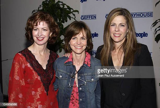 Dana Delany Sally Field and Rita Wilson during Geffen Playhouse Hosts Second Annual Fundraising Gala at Geffen Playhouse in Westwood California...