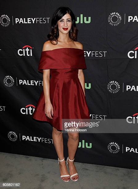 Dana DeLorenzo attends The Paley Center for Media PaleyFest 2016 fall TV preview for STARZ at The Paley Center for Media on September 14 2016 in...