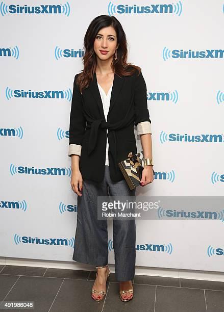 Dana Delorenzo visits at SiriusXM Studios on October 9 2015 in New York City