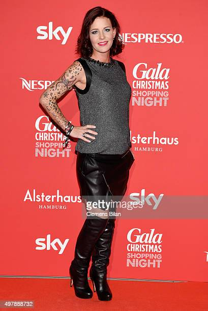 Dana Dieckmeier attends GALA Christmas Shopping Night 2015 at Alsterhaus on November 19 2015 in Hamburg Germany