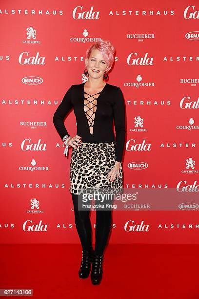 Dana Diekmeier attends the GALA Christmas Shopping Night 2016 at Alsterhaus on December 1 2016 in Hamburg Germany