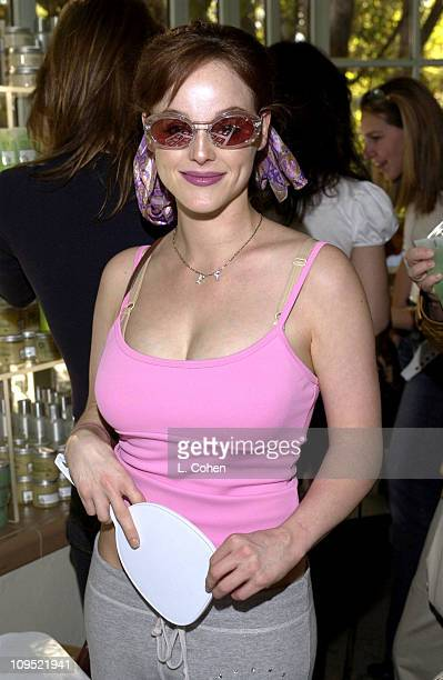 739594fefd0 Dana Duray visits Kenneth Cole sunglasses at the Cabana Beauty Buffet  presented with Allure magazine