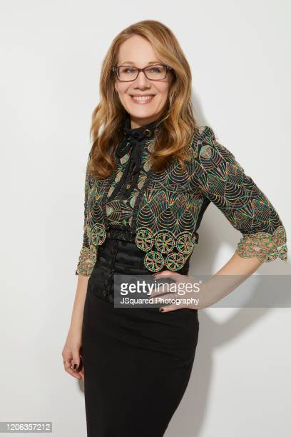 Dana Fox of Apple TV's Home Before Dark poses for a portrait during the 2020 Winter TCA Portrait Studio at The Langham Huntington Pasadena on January...