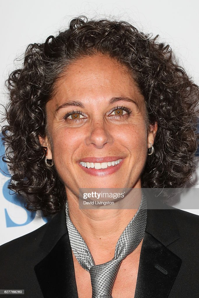 Dana Goldberg arrives at the TrevorLIVE Los Angeles 2016 Fundraiser at The Beverly Hilton Hotel on December 4, 2016 in Beverly Hills, California.