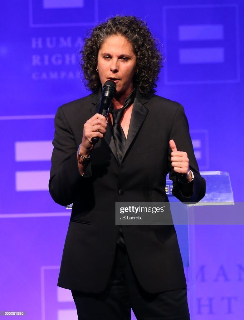 Dana Goldberg attends the Human Rights Campaign's 2017 on March 18, 2017 in Los Angeles, California.