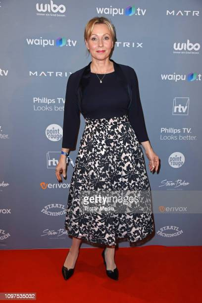 Dana Golombek attends the Movie Meets Media party during 69th Berlinale International Film Festival at Hotel Adlon on February 10 2019 in Berlin...