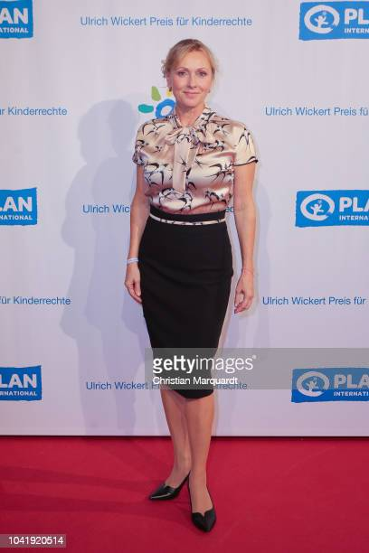 Dana Golombek attends the Ulrich Wickert and Peter SchollLatour award at Bar jeder Vernunft on September 27 2018 in Berlin Germany
