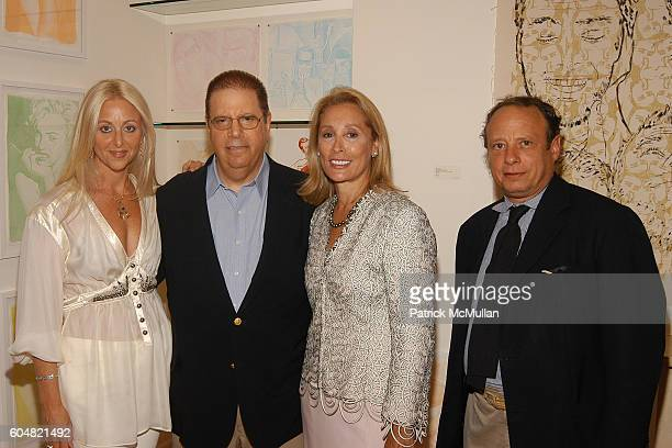 Dana Hammond Steven Ames Susan Hess and Jonathan Becker attend Martin Saar in the eye of the Beholder Paintings Photographs at The Leila Taghinia...