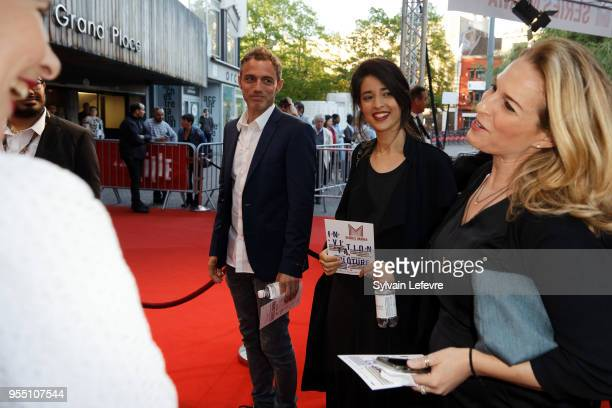 Dana Idisis and Yuval Shafferman attend closing ceremony of Series Mania Lille Hauts de France festival on May 5 2018 in Lille France