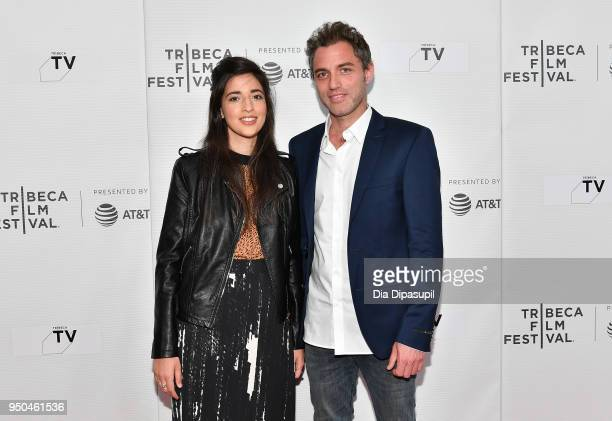 Dana Idisis and Yuval Shafferman attend the screeing of 'On the Spectrum' at Tribeca TV Indie Pilots during the 2018 Tribeca Film Festival at...