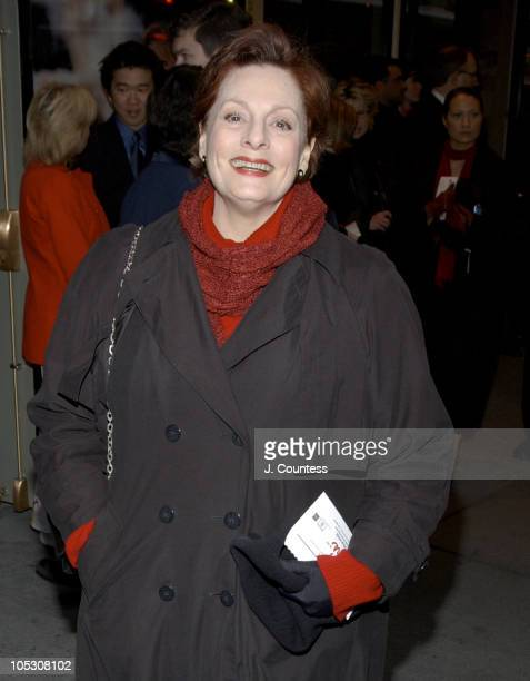 Dana Ivey during Opening Night of Jumpers Arrivals at Brooks Atkinson Theater in New York City New York United States