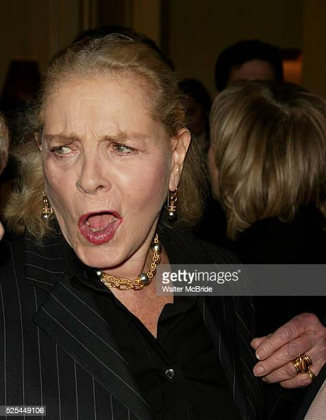 Dana Ivey Lauren Bacall and Sidney LumetAttending a New York celebration in anticipation of director Sidney Lumet's Honorary Academy Award which will...