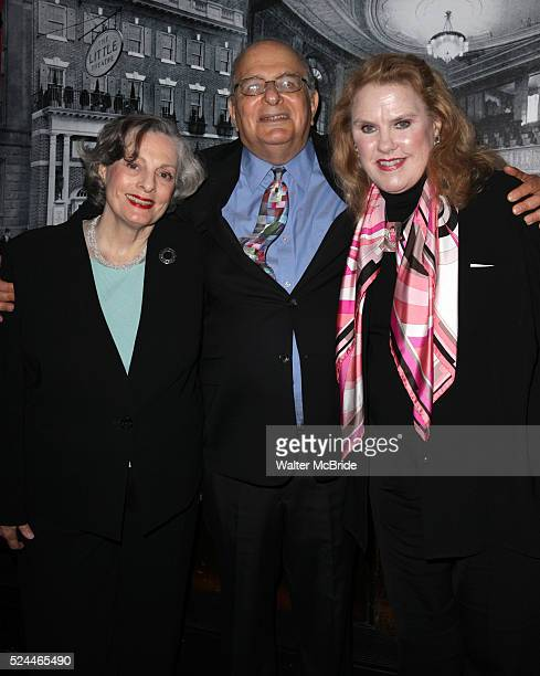 Dana Ivy Alfred Uhry Celia Weston attending The Little/Helen Hayes Theatre Celebrates 100 Reception at Sardi's in New York City on 5/24/2012 ��...