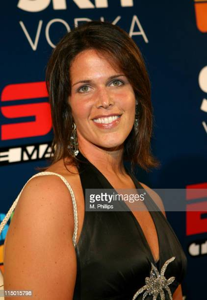 Dana Jacobson during Skyy at ESPN the Magazine's Summer Fun Party Blue Carpet in Los Angeles California United States