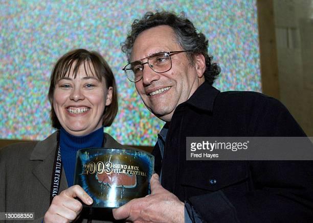 Dana Kupper and Gordon Quinn winners of the Documentary Cinematography award for Stevie