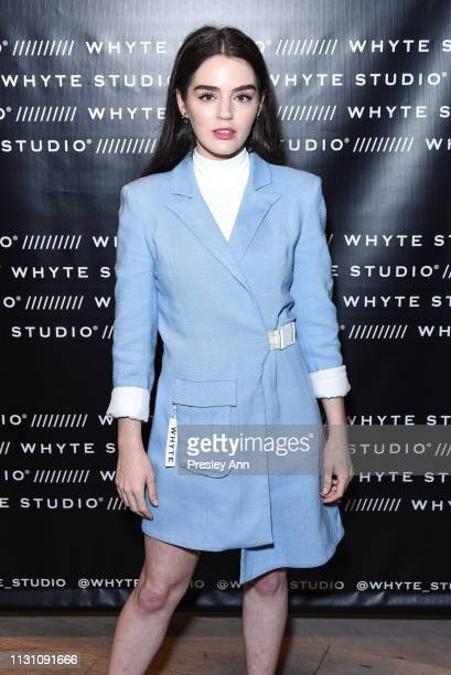 Dana Melanie attends Fashion Designer Bianca Whyte's Launch Of Her LondonBased Fashion Label Whyte Studio At Topshop at TopShop on February 20 2019...