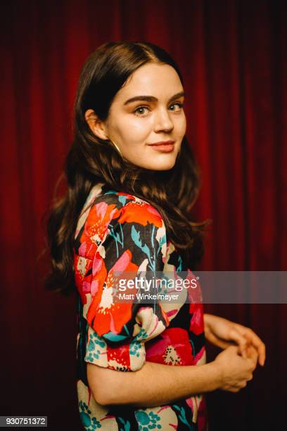 Dana Melanie poses for a portrait at the Wild Nights With Emily Premiere 2018 SXSW Conference and Festivals at Paramount Theatre on March 11 2018 in...