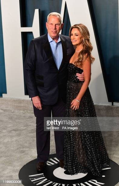 Dana Norris and Steve Tisch attending the Vanity Fair Oscar Party held at the Wallis Annenberg Center for the Performing Arts in Beverly Hills Los...