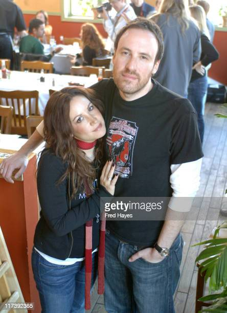 Dana Parish and Andrew Hollander during 2007 Sundance Film Festival ASCAP Filmmaker and Composer Brunch at Cisero's in Park City Utah United States