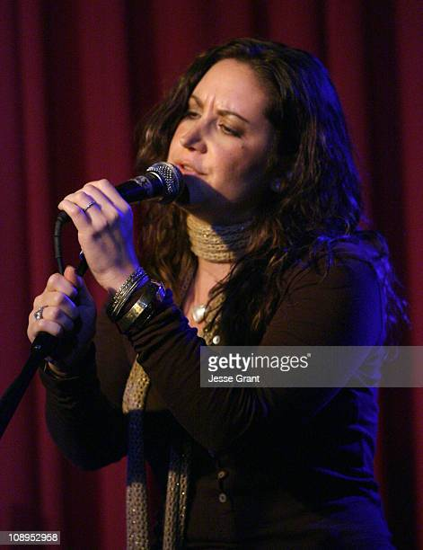 Dana Parish during ASCAP Presents Quiet on the Set December 4 2006 at Hotel Cafe in Hollywood California United States