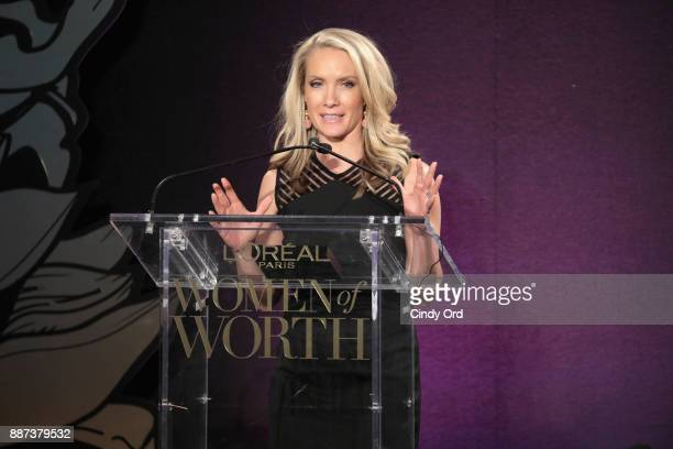 Dana Perino speaks onstage during the L'Oreal Paris Women of Worth Celebration 2017 on December 6 2017 in New York City