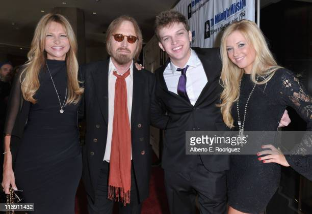 Dana Petty singer Tom Petty Dylan Petty and girlfriend Paige arrive to The Midnight Mission's 11th Annual Golden Heart Awards on May 9 2011 in...