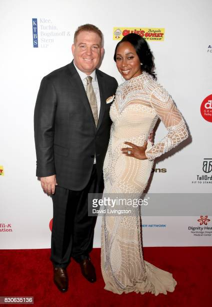 Dana Pump and Leah Pump at the 17th Annual Harold Carole Pump Foundation Gala at The Beverly Hilton Hotel on August 11 2017 in Beverly Hills...