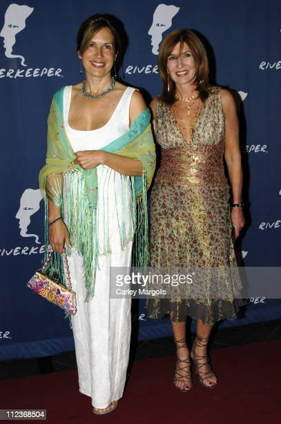 Dana Reeve and Nicole Miller during Riverkeeper Gala Honoring Viacom's Tom Freston at Pier 60 at Chelsea Piers in New York City, New York, United...