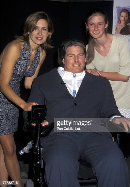 Dana Reeve Christopher Reeve and daughter Alexandra Reeve