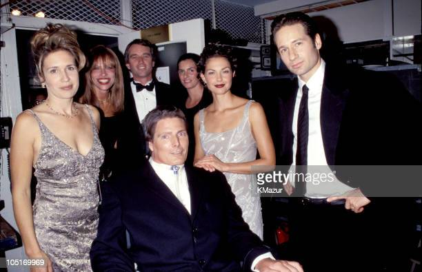 Dana Reeve, Christopher Reeve, Carly Simon, Robert Kennedy, Ashley Judd and David Duchovny