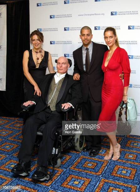 Dana Reeve, Christopher Reeve, David Blaine and Manon von Gerkan