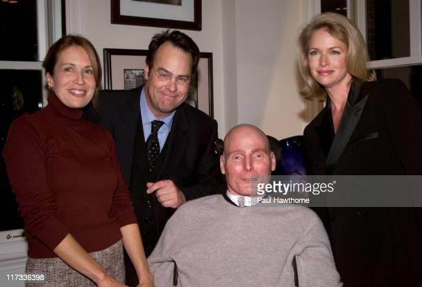 Dana Reeve, Dan Aykroyd, Donna Dixon and Christopher Reeve