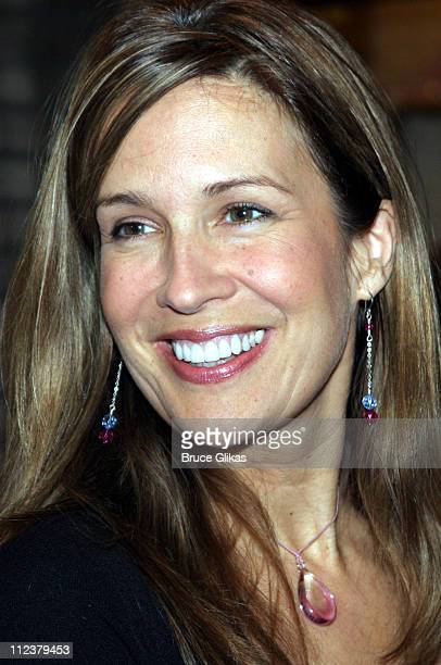 """Dana Reeve during Billy Crystal Makes His Broadway Debut in """"700 Sundays"""" at The Broadhurst Theater/Tavern on the Green in New York, NY, United..."""