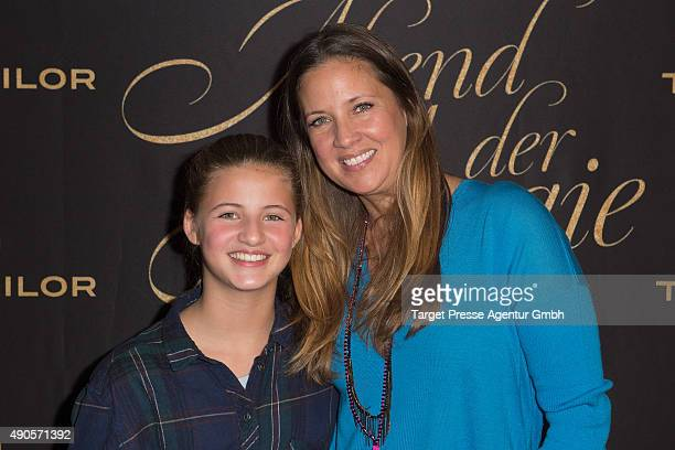 Dana Schweiger and her daughter Emma attend the charity event 'Ein Abend der Magie' by Tom Tailor at Soho House on September 29 2015 in Berlin Germany