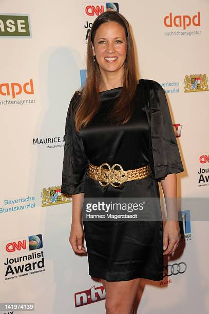 Dana Schweiger attends the CNN Journalist Award 2012 at the GOP Variete Theater on March 27, 2012 in Munich, Germany.