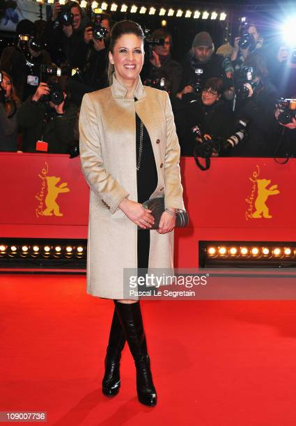 Dana Schweiger attends the 'Margin Call' Premiere during day two of the 61st Berlin International Film Festival at Berlinale Palace on February 11...