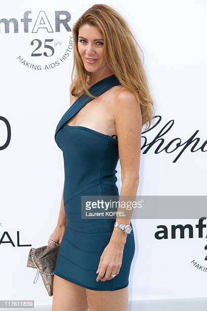 Dana Sessen arrives at amfAR's Cinema Against AIDS Gala 2011 at Hotel Du Cap on May 19 2011 in Antibes France