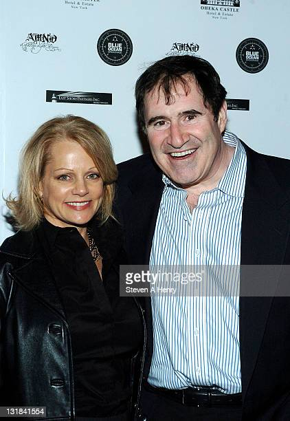 Dana Stanley Kind and actor Richard Kind attend A Midwinter Night's Dream charity fundraiser at Oheka Castle on January 6 2011 in Huntington New York