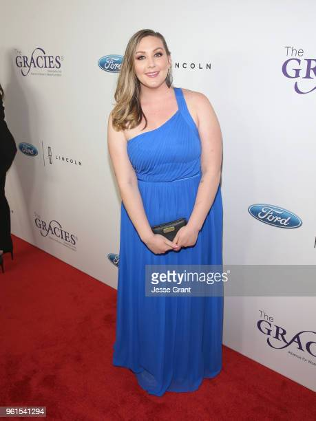 Dana Swearingen attends the 43rd Annual Gracie Awards at the Beverly Wilshire Four Seasons Hotel on May 22 2018 in Beverly Hills California